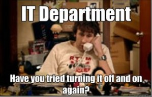 If you haven't watched The IT Crowd... stop everything and watch every episode immediately!!!